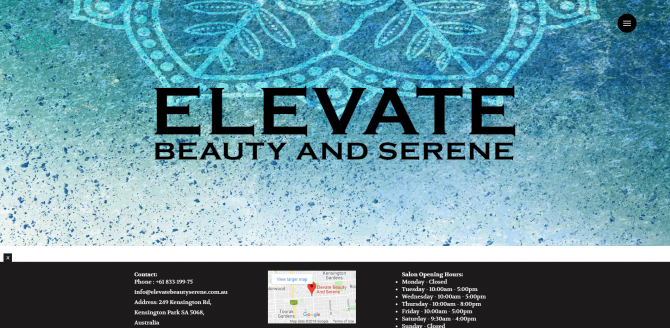 40.Elevate Beauty Serene for Women