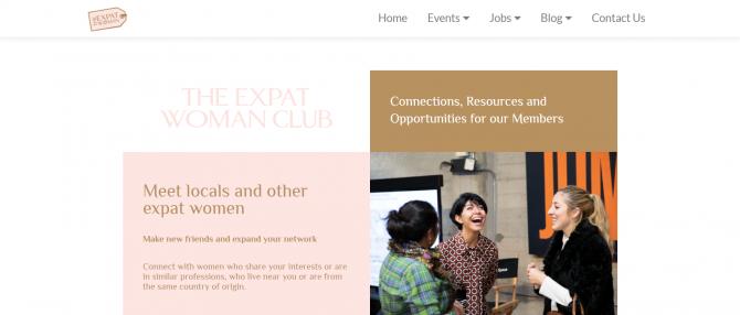 60.The Expat Woman Club