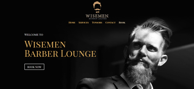 85.Wisemen Barber Lounge